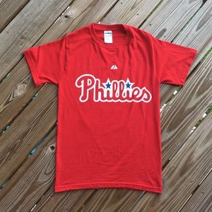 Philadelphia Phillies Women's Short Sleeve Tee